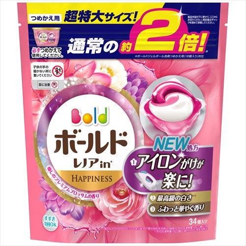 ボールドジェルボール3D 癒しのプレミアムブロッサムの香り 詰替用超特大サイズ