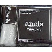 anela アネラ マナソープ(泡立てネット付き) 100g