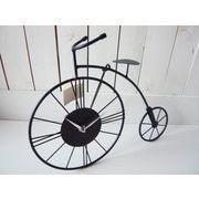【値下げ!!】【SALE】 ワイヤー時計 自転車 モチーフ