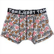 《ファッション》トムとジェリー メンズ ボクサー パンツ/アメリカンロゴ