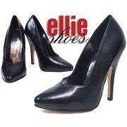LA直輸入♪ellie shoes(エリーシューズ)ハイヒールパンプス/ピンヒール【マットブラック】