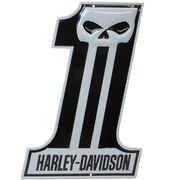 エンボスメタルサイン H-D Dark Custom #1