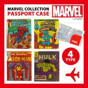 【アントレックス】パスポートがまるで小さな「マーベルコミック」!?【マーベル パスポートケース】