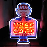 ネオンサイン【USED CAR】