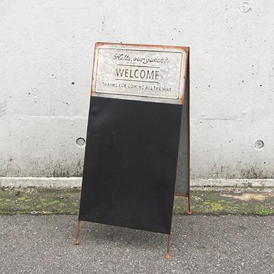 玄関や庭先でお客様をお迎えするデコレーションシリーズ【アクイユ・ブラックボード】