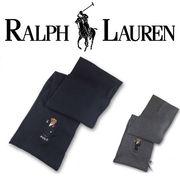RALPH LAUREN TUXEDO BEAR SCARF  16121