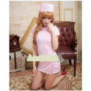看護婦 ナース 制服 コスチューム コスプレ ハロウィン 仮装 衣装 3点セット Lサイズ bwn1055-3