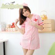 看護婦 ナース 制服 コスチューム コスプレ ハロウィン 仮装 衣装 2点セット Mサイズ bwn1084-1