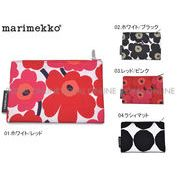 S) 【マリメッコ】 43444 コスメポーチ KEIJULI UNIKKO COSMETIC BAG ロゴ バッグ 北欧 全4色