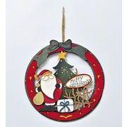 【ウインターフェアセール!】【クリスマス】【ウッドリース】2種
