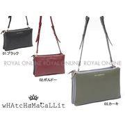 【ワチャマコリ】 WM-049 スクエアポシェット ショルダー バッグ 鞄 かばん 全3色 レディース