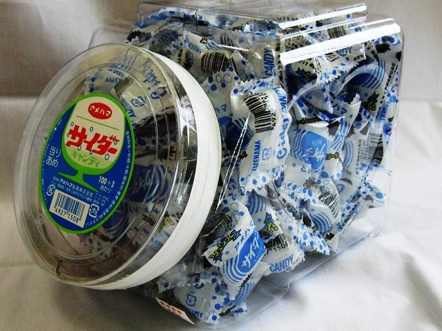アメハマ 10円当り サイダーキャンディ(100個×6ポット)