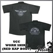 [FELIX] UCCワークシャツ・ブラック・RED KAP(レッドキャップ)