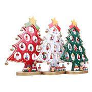 クリスマスプレゼント クリスマス飾り 木製クリスマスツリー 置物木製