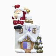 <AMANO>【クリスマス】【LEDブックハウス サンタ】