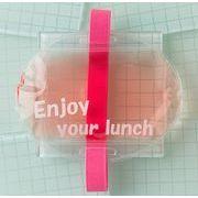 暑い夏のお弁当箱に保冷剤 ぴったりデリ ランチバンド付保冷剤 ピンク(お弁当グッズ ランチグッズ)