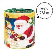 サンタロール /クリスマス トイレットペーパー イベント ギフト ノベルティ