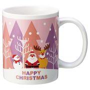 ハッピークリスマス・マグカップ1P /クリスマス マグカップ イベント ギフト ノベルティ