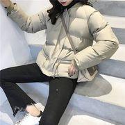 コート 防寒保暖 無地 ファスナー ゆったり 全2色 r3001195
