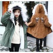 子供冬コート 厚手 女の子 男の子 キッズ 中綿コート 防寒 長袖