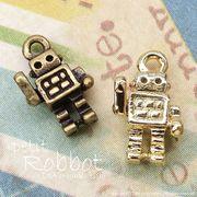 """★新掲載★L&A Original charm★K16GP&金古美★かわいいプチチャーム♪197""""petit robot"""""""