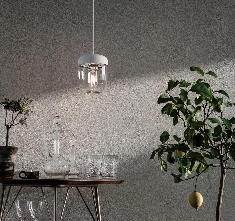 UMAGE(VITA) Acorn white polished steel
