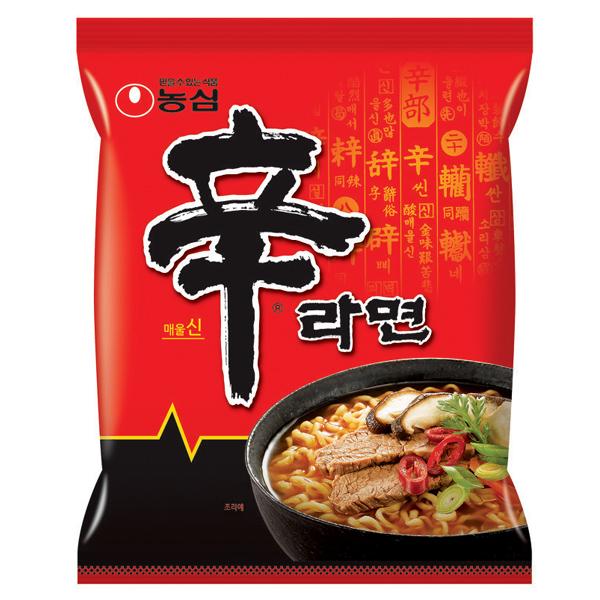 【食品・飲料】韓国ラーメン 人気上位5種アソートセット