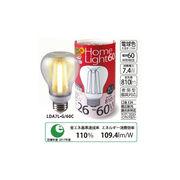 ★広配光 電球形 LED電球 60W相当 電球色 クリア 口金E26 LDA7L-G/60C バラ1個
