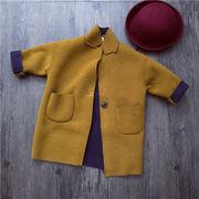冬服 新しいデザイン キッズ洋服 男女 ファッション 中長デザイン コート 児子供 レジ