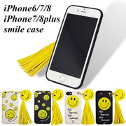 iPhone8/7/6/6s iPhone7/8Plus スマイル スマホケース iPhoneケース iPhone ケース