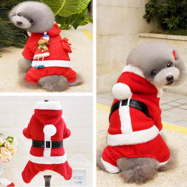 即納可能 クリスマス 人気犬服 ワンちゃん服 ペットの大変身犬服 ペット用品(S-XXL)