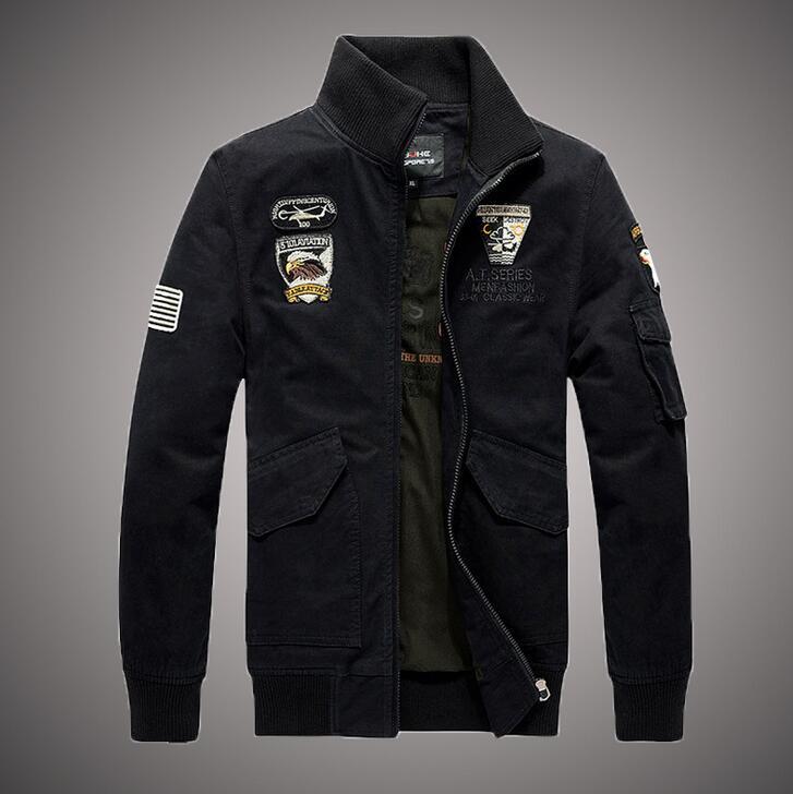 人気ワッペン MA-1ジャケット メンズ アウター ブルゾン