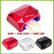 【訳あり現品限り】ダイヤモンドネイルランプ36W / 12W CCFL + 24W LED