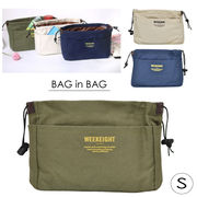 ハンプバックインバッグ 小   旅行 化粧ポーチ 小物入れ トラベル  バッグインバッグ