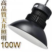 LED高天井器具 100W 水銀灯 LED代替型 工場 倉庫 作業灯 車修理場 施設照明 ランプ 落下防止吊り下げ