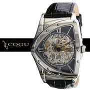 正規品COGU自動巻き腕時計 コグ BS00T-BK メンズ腕時計