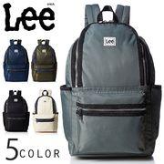 リー Lee オープンワイドリュックサック 軽量ナイロン デニムライン 小さめ A4収納 デイパック 0425352fu