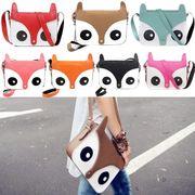 ■動物さんデザインが可愛い♪レディースショルダーポーチバッグ全7色【納期約2週間】250g