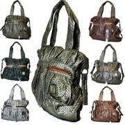 閉店セール 全品70%OFF メッシュ加工入りのすてきなハンドバッグです!!◆ファッションバッグ◆