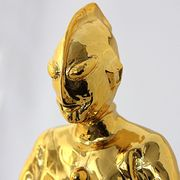 ウルトラマン放送開始50年記念フィギュア ゴールドVer (全長約33cm)