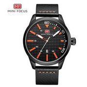 送料無料 MINI FOCUSメンズ スポーツ カレンダー  腕時計MF-58