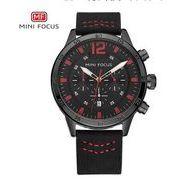 送料無料 MINIFOCUSメンズ クロノグラフカレンダー腕時計MF-149