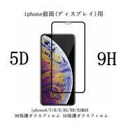 iphone前面(ディスプレイ)用保護ガラスフィルム