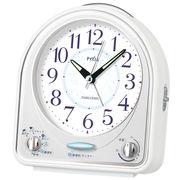 SEIKO セイコー 目覚まし時計 アナログ 31曲メロディアラーム ピクシス NR435W