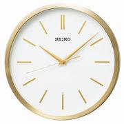 SEIKO セイコー 掛け時計 電波 アナログ 金色 ヘアライン KX226G SEIKO