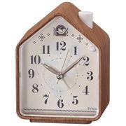 SEIKO セイコー 目覚まし時計 ネイチャーサウンド アナログ アラーム ピクシス NR444A