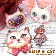▼SALE▼L&A Original Parts★Alice&CAT★ふわふわ素材★ハンドメイド用★♪138