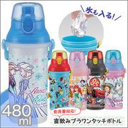 食洗機対応直飲みプラワンタッチボトル 480ml PSB5SAN