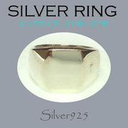 ビッグサイズ / 1090-138 ◆ Silver925 シルバー リング 印台(角丸)