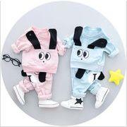 2018春 男 女の子 服 1歳2歳4歳 赤ちゃん 綿 子供のスーツ メーカー 衣類